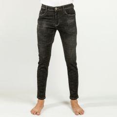 Pants:Jeans Semi Fit Solid_328#1