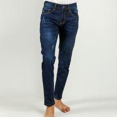 Pants:Jeans Semi Fit Solid_340#1