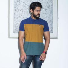 Polo:S/S Semi Fit Stripe_115#4