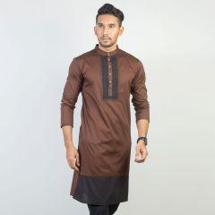 Panjabi Trendy Fit  Solid_233#1