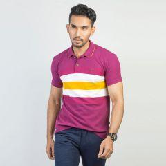 Polo:Short Sleeve Semi Fit  Stripe_117#8
