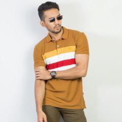 Polo:Short Sleeve Semi Fit  Stripe_117#6