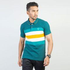 Polo:Short Sleeve Semi Fit  Stripe_117#5