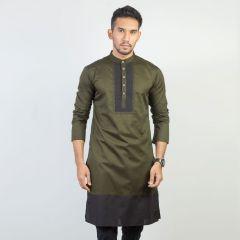Panjabi Trendy Fit  Solid_233#2