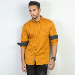 Shirt:Full Sleeve Trendy Fit  Solid_367#3