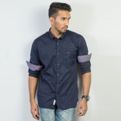 Shirt:Full Sleeve Trendy Fit  Solid_367#2