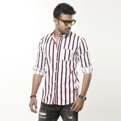 Shirt:Casual F/S Trendy Fit Stripe_334#4