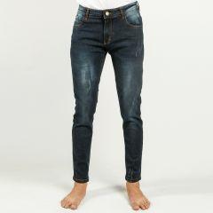Pants:Jeans Semi Fit Solid_337#1