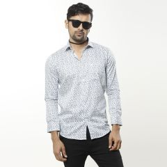 Shirt:Formal F/S Semi Fit Print_297#3
