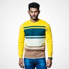 Sweater:Full Sleeve  Stripe_115#2