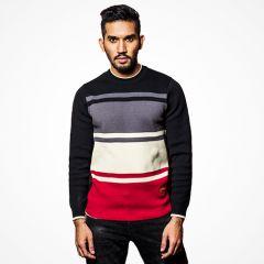 Sweater:Full Sleeve Stripe_115#3