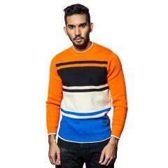 Sweater:Full Sleeve  Stripe_115#1