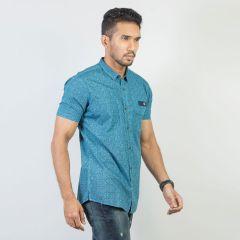 Shirt:Short Sleeve Trendy Fit  Print_167#1