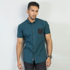 Shirt:Short Sleeve Trendy Fit  Check_168#1