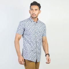 Shirt:Short Sleeve Trendy Fit  Print_166#1