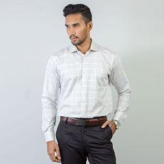 Shirt:Full Sleeve Blue Door Regular Fit  Check_261#1