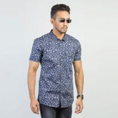 Shirt:Short Sleeve Trendy Fit  Print_166#2