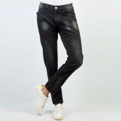 Pants:Jeans Semi Fit Solid_330#1