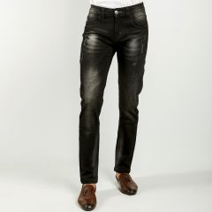 Pants:Jeans Semi Fit Solid_341#1