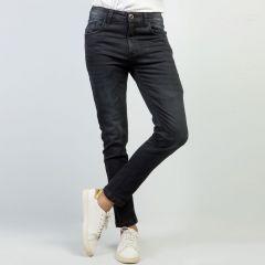 Pants:Jeans Semi Fit Solid_343#1
