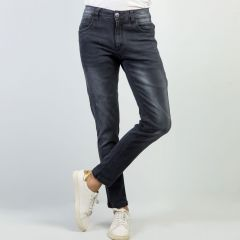 Pants:Jeans Semi Fit Solid_344#1
