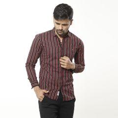 Shirt:Casual F/S Trendy Fit Stripe_335#4