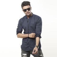 Shirt:Casual F/S Trendy Fit Print_337#1