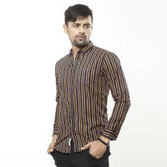 Shirt:Casual F/S Trendy Fit Stripe_335#5