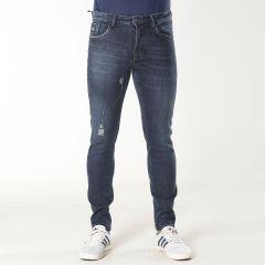 Pants:Jeans Semi Fit Solid_319#1