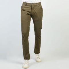 Pants:Gabardine Semi Fit  Solid_194#1