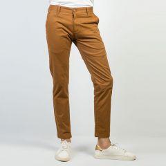Pants:Gabardine Semi Fit  Solid_195#1